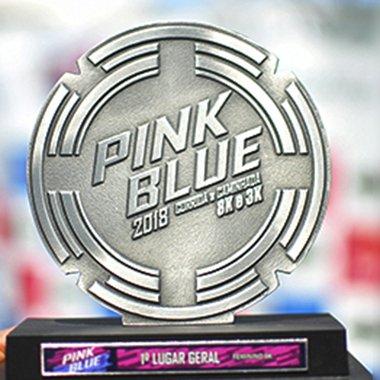 Corrida e Caminhada Pink & Blue 2018