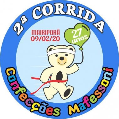2ª CORRIDA CONFECÇÕES MAFESSONI - 27 ANOS